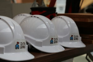 ヘルメット|こども工務店開催2018年8月7日