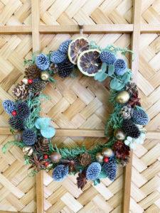 クリスマスリース2|サラダホームのクリスマス♪|大分の工務店 サラダホームスタッフブログ