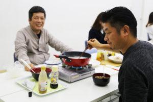 坂井社長と工務部高岩さん|サラダホームのクリスマス♪|大分の工務店 サラダホームスタッフブログ