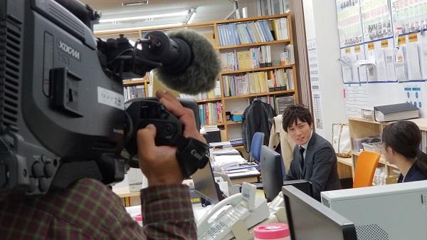 NHKの取材_坂井建設|力石と見学会とテレビ取材!|大分の工務店サラダホームスタッフブログ