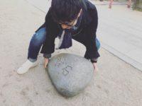 荒木VS櫛田神社の力石|大分の工務店サラダホームスタッフブログ