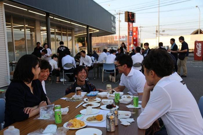 坂井建設暑気払い 大分の工務店 サラダホームスタッフブログ