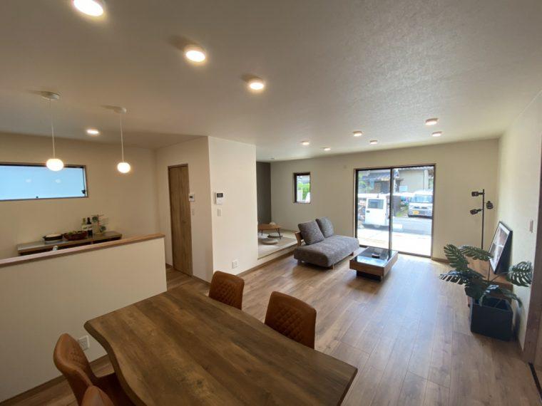 緑が丘のSAKAIの家ご紹介!リビング|大分の注文住宅工務店サラダホームスタッフブログ