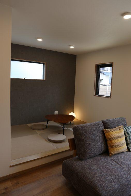 緑が丘のSAKAIの家ご紹介!タタミコーナー|大分の注文住宅工務店サラダホームスタッフブログ