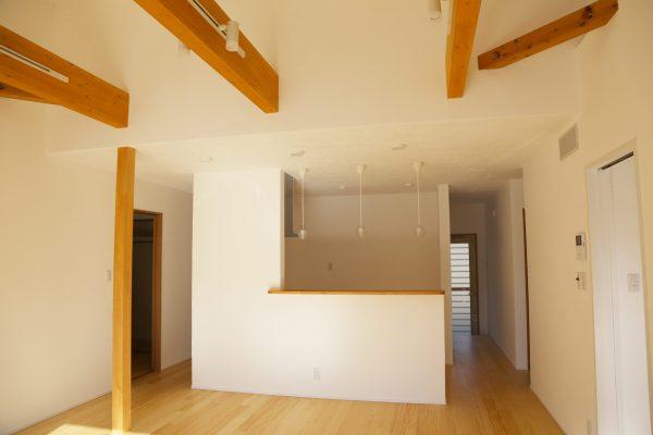 注文住宅の平屋 施工事例 対面キッチン