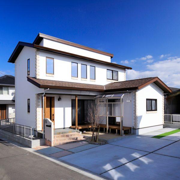注文住宅の2階建て 施工事例