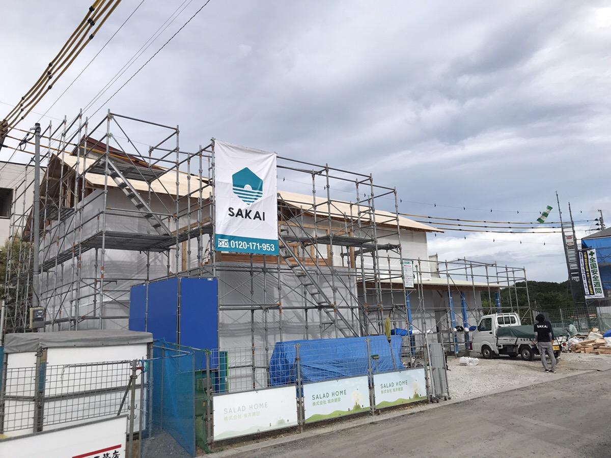 ALP住宅展示場 新モデルハウス、ついに上棟しました!