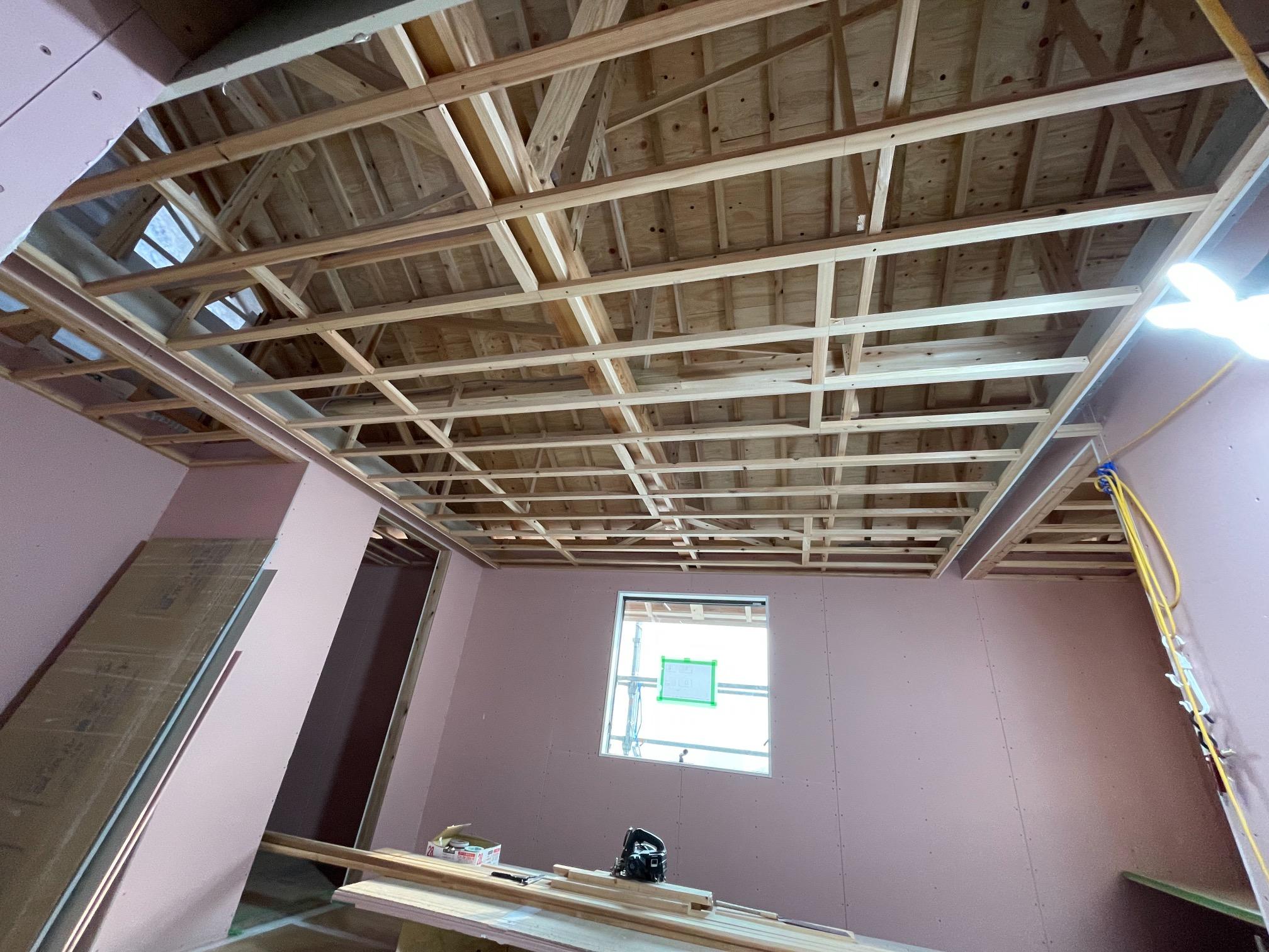 ALP住宅展示場 サラダホーム新モデルハウス内部工事
