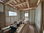田尻の家 断熱施工