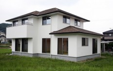 3世代住宅のしっくいの家