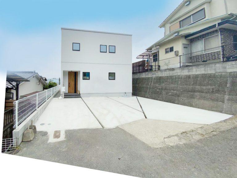 大分市永興の建売・分譲住宅C 見晴らしの良い高台のしっくいのお家