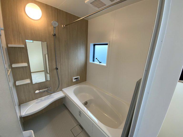 大分市羽田デザイン分譲住宅 バスルーム・浴室・お風呂
