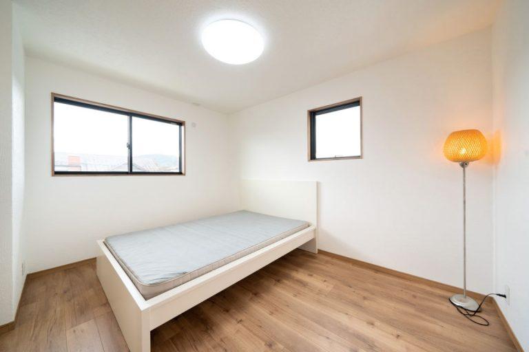 大分市中戸次デザイン分譲住宅 中戸次の家-Ⅰ棟 主寝室