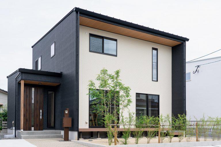 大分市中戸次デザイン分譲住宅 中戸次の家-Ⅰ棟 外観