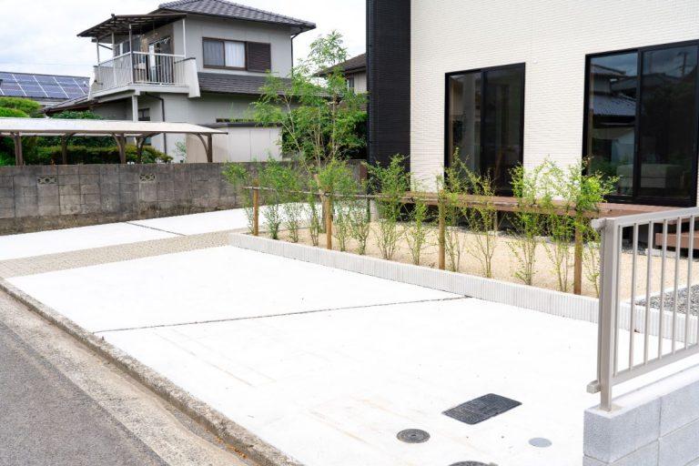 大分市中戸次デザイン分譲住宅 中戸次の家-Ⅰ棟 駐車場