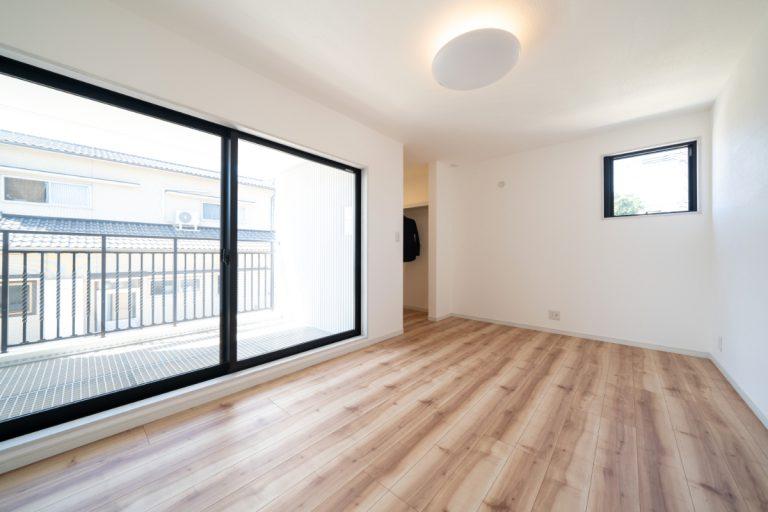 大分市上宗方デザイン分譲住宅 上宗方の家 主寝室