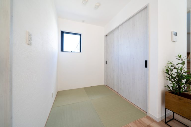 大分市上宗方デザイン分譲住宅 上宗方の家 畳コーナー