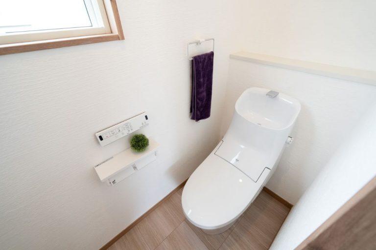 大分市中戸次デザイン分譲住宅 中戸次の家-Ⅱ棟 トイレ