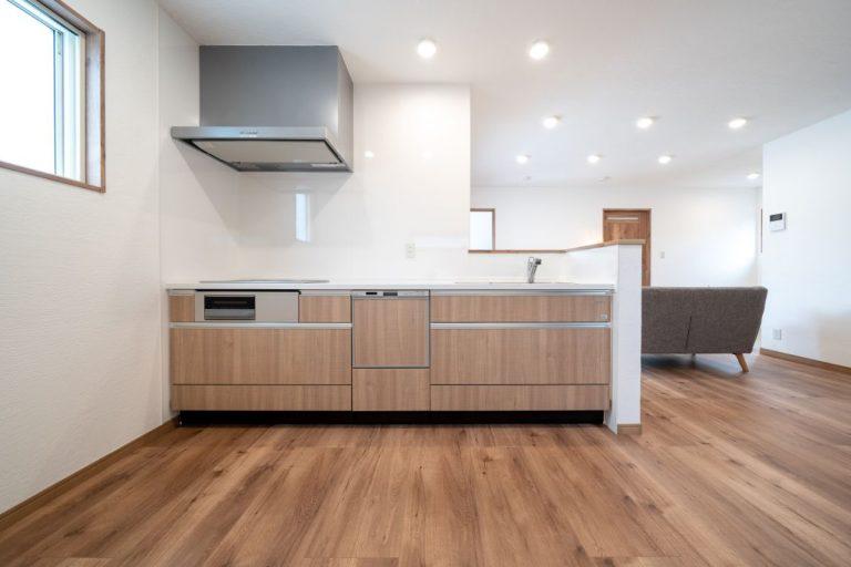 大分市中戸次デザイン分譲住宅 中戸次の家-Ⅱ棟 キッチン