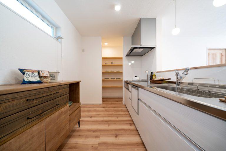 キッチン 大分市下郡南の建売・デザイン分譲住宅 平屋の3SLDK